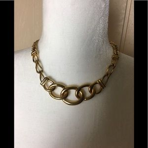 Monet chunky link necklace